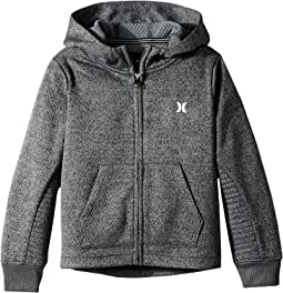 Hurley Kids - One and Only Therma Fit Zip Hoodie (Little Kids)