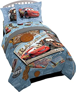 Jay Franco Disney Cars Tune Up 5 Piece Twin Bed Set