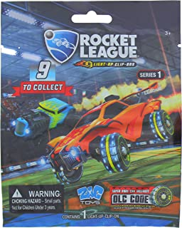 Rocket League Light Up Clip On Blind Bag Series 1 with 9 to Collect