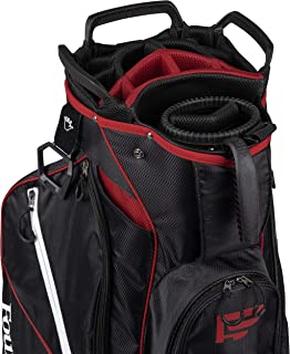 Founders Club Riverdale Golf Cart Bag with Removable Short Game Stand Bag- 2 Bags in 1 15 Dividers
