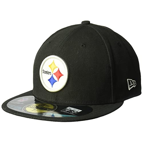 d3d5ca9e4 NFL Mens Pittsburgh Steelers On Field 5950 Game Cap By New Era