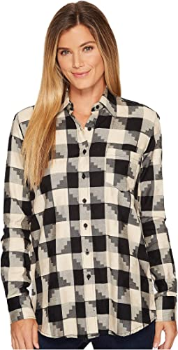 Patterned Plaid Jacquard