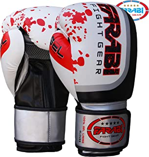 Guantoni da Boxe Sparring MMA Thai Grappling Fight Training Pads by Farabi