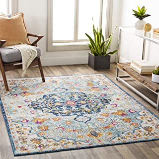 "Artistic Weavers Carldale Light Blue Area Rug, 7'10"" x 10'"
