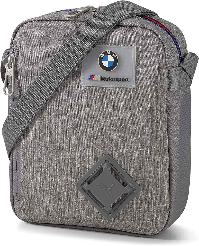 PUMA x BMW M Motorsport LS Portable Bag (Gray)