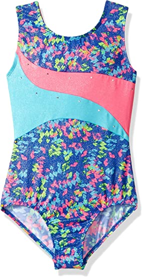 *NWT* Details about  /Jacques Moret Little Girls Fun Gymnastics Leotard Small 6//7