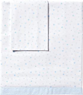 color azul S/ábanas de capazo unisex Petit Praia E4521613