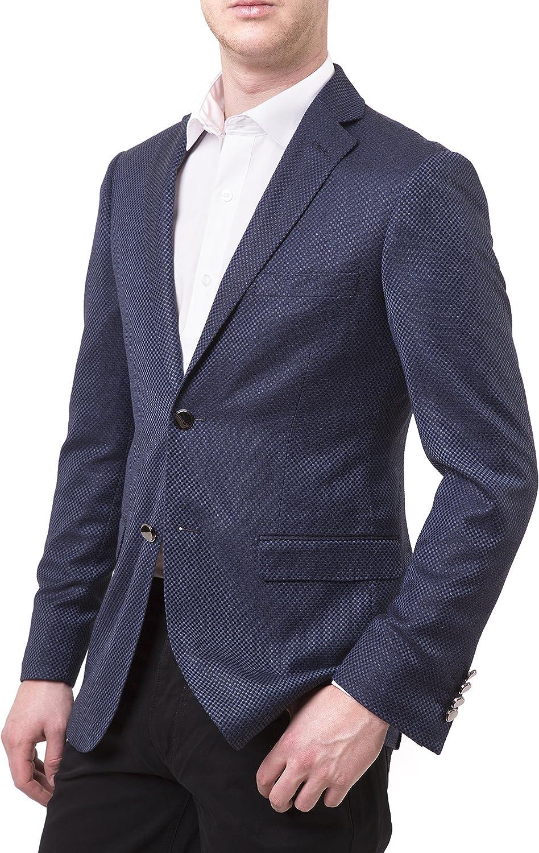 Giorgio Sanetti Men's Slim Fit Two Button Luxury Blazer/Sport Coat - Many Styles