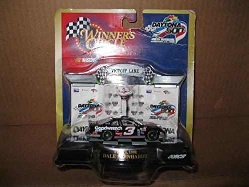 Winner's Circle Dale Earnhardt  3 Daytona 500 40th Annual February 15, 1998 Diecast Victory Lane