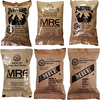 Western Frontier Ultimate MRE, Pack Date Printed on Every Meal - Meal-Ready-to-Eat. Inspected Certified Genuine Mil Surplus.