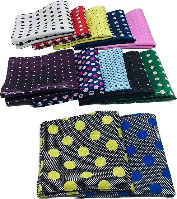 6 Pack Mens Handkerchiefs Pure Cotton Lightweight Fabric Patterned And Plain