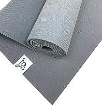Tiggar Yoga mat - 4mm Thick Mat, Eco Friendly and All Natural Tree Rubber. Non Slip Yoga mat,Dense Cushioning for Support ...