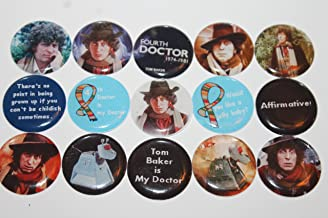 Refrigerator Magnets - Doctor Who Theme - The Fourth Doctor Tom Baker