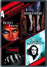 4 Film Favorites - Twisted Terror: (Deadly Friend / Eyes of a Stranger / The Hand / Someone's Watching Me)