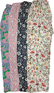 Jyoti Women's Cotton Printed Pajama (Pack of 4)