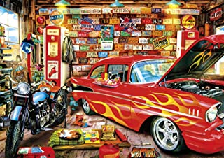 Buffalo Games - Days to Remember - Retro Garage - 500 Piece Jigsaw Puzzle