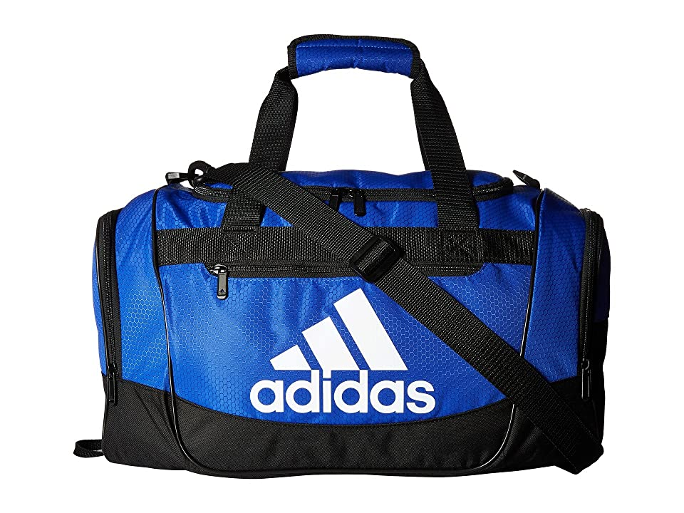 adidas Defender III Medium Duffel (Bold Blue/Black/White) Bags