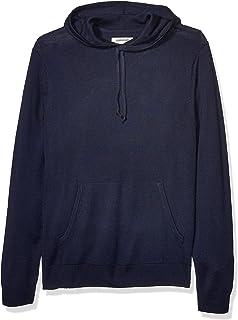 Amazon Brand - Goodthreads Men's Merino Wool/Acrylic Pullover Hoodie Sweater