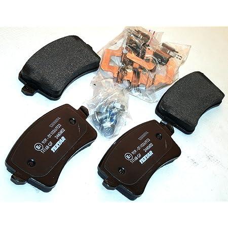 For 2011-2018 Audi A8 Quattro Brake Pad Set Rear Centric 69276MQ 2012 2013 2014