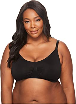 Plus Size Nursing Bra with Hooks