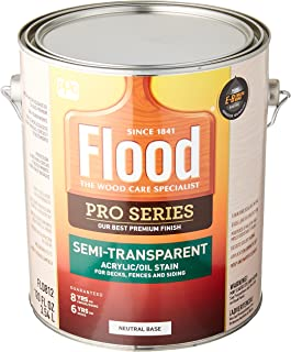 Flood/PPG Architectural FIN FLD812-01 Pro NTRL Base Stain, 1 Gallon