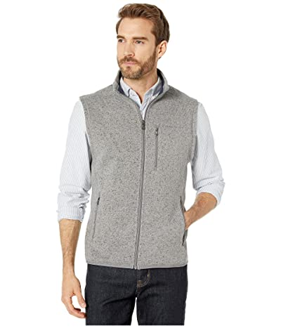 Southern Tide Samson Peak Sweater Fleece Vest (Steel Grey) Men