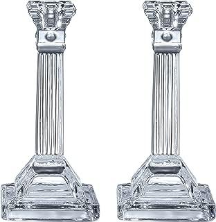 Best crystal shabbat candlesticks Reviews
