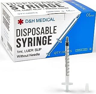 Best 1 ml single use syringe u 40 insulin Reviews