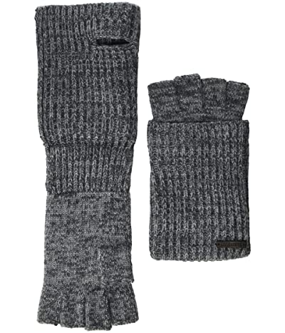 AllSaints Twisted Half Cardigan Gloves (Grey Marl) Extreme Cold Weather Gloves