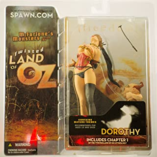 Twisted Land of Oz - 2003 - McFarlane's Monsters Series Two - Dorothy Figure & Toto - Includes Chapter 1 - Mature Themes - New - Limited Edition - Collectible