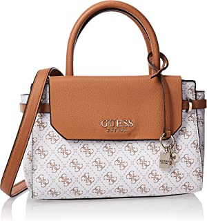 GUESS Women's Satchel Handbag, White - SG758205