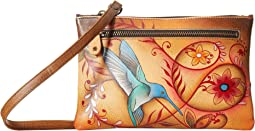 Anuschka Handbags - 1126 Organizer Wallet With Smart Phone Case