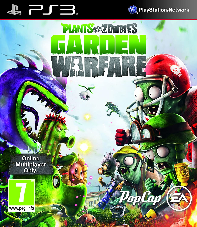 Plants Vs Zombies Garden Warfare Sony Playstation 3 PS3 Game UK PAL