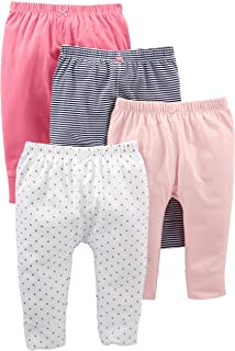 Simple Joys by Carter's Baby Girls' 4-Pack Pant