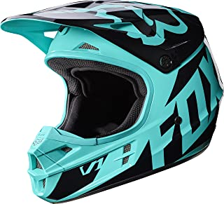 2017 Fox Racing V1 Race Helmet-Green-2XL