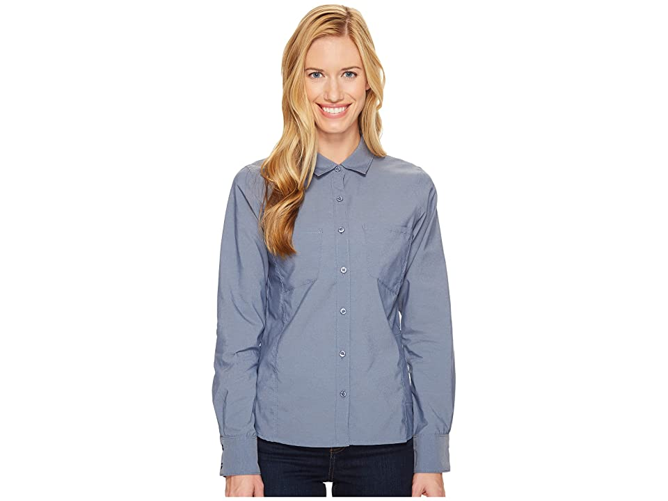 The North Face Long Sleeve Sunblocker Shirt (Shady Blue (Prior Season)) Women