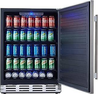 coldest beer fridge