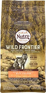Nutro Wild Frontier  Adult Open Valley Recipe Grain Free Chicken Dry Dog Food 4 Pounds (Discontinued By Manufacturer)