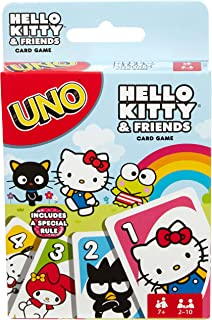cdde062a1 Mattel Games UNO Hello Kitty & Friends Card Game