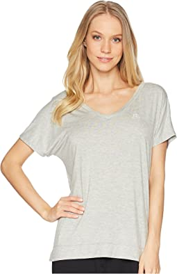 Short Sleeve V-Neck Raglan Top