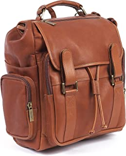 Claire Chase Sierra Backpack, Saddle, One Size