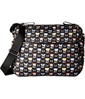 Fendi Kids - Monster Print Diaper Bag