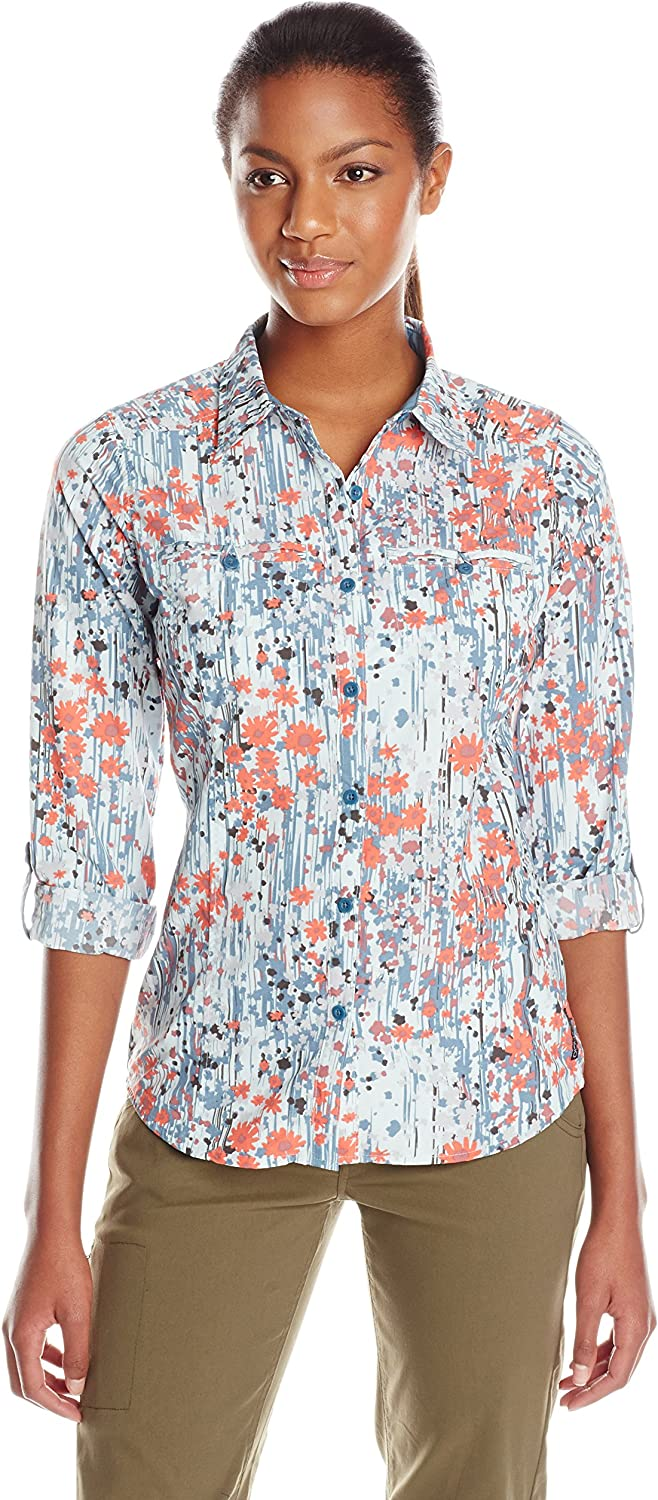 ExOfficio Women's Percorsa Print Long Sleeve Shirt