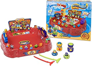 SUPERTHINGS RIVALS OF KABOOM - Battle Arena - Contains 1 Arena, 2 Battle Spinners & 2 Collectible Figures