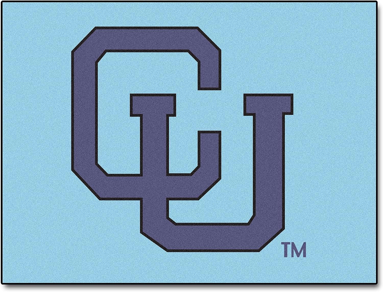 FANMATS NCAA Columbia University Lions Nylon Face AllStar Rug