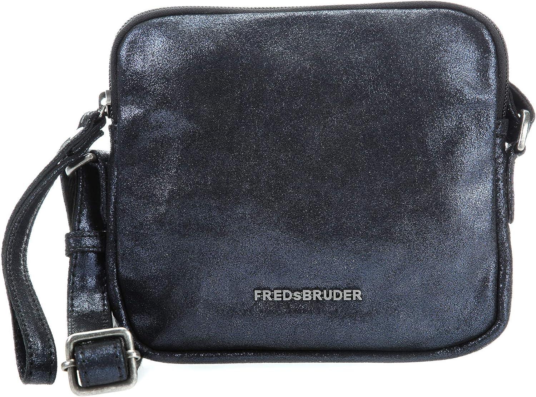 FrotsBruder Big Rush Schultertasche blau metallic metallic metallic B07G8H9W6T  Elegante und stabile Verpackung 9db1ea
