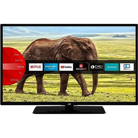 JVC LT-43VF5955 43 Zoll Fernseher (Smart TV, Prime Video / Netflix / YouTube, Full HD, Bluetooth, Works with Alexa, Triple-Tuner)