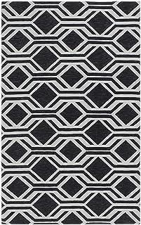 "Rugsmith Gray Geometric Kitchen Mat, 20"" x 36"""