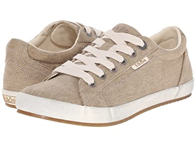 Taos Footwear Star (Khaki Washed Canvas) Women