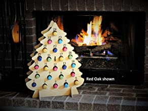 Christmas Tree-Shaped Wine Advent Calendar for Mini Bottles of Wine, Bubbly, Cider, and more!